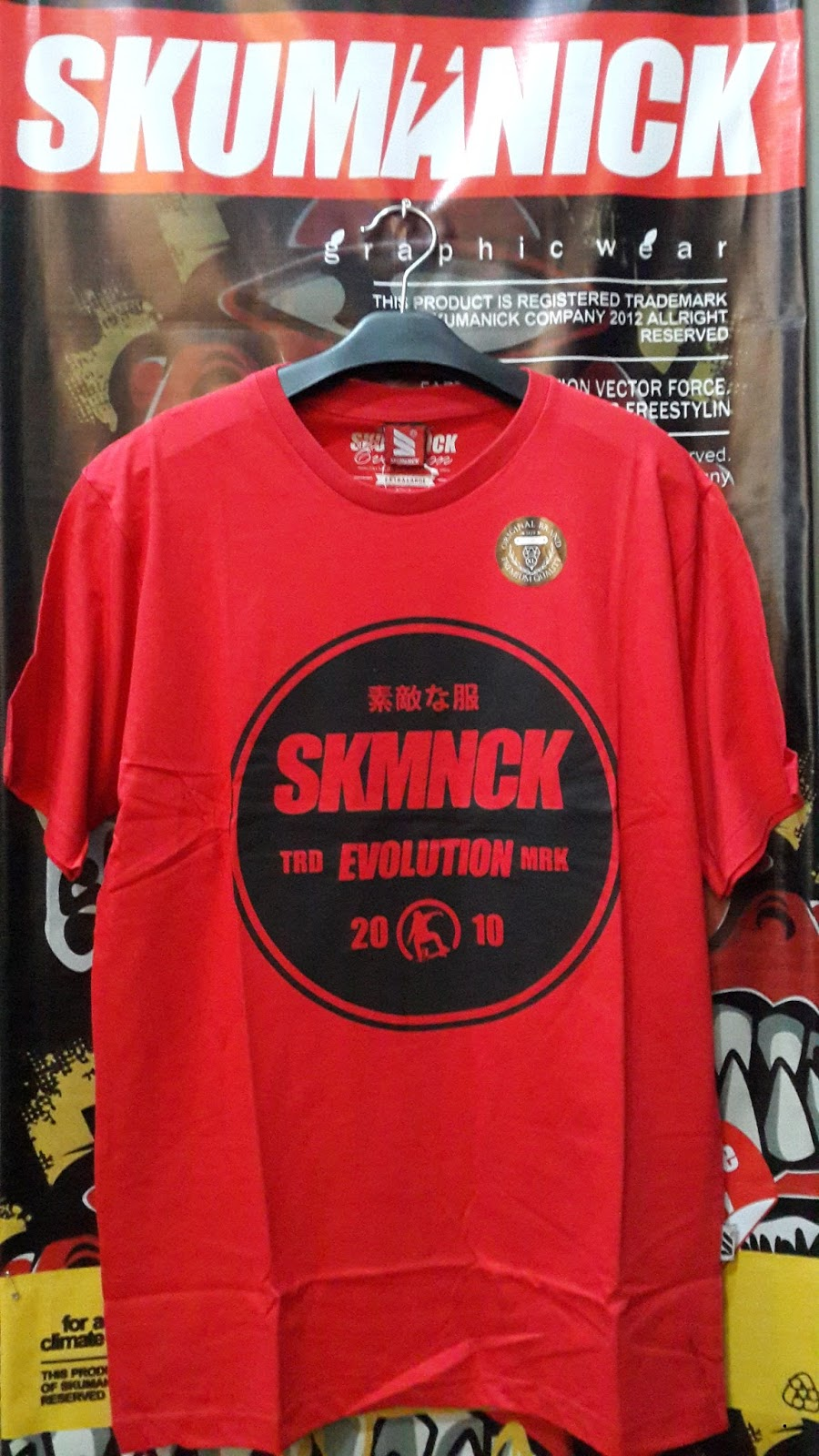 Distributor Kaos Distro Merk Skumanick Skumanick
