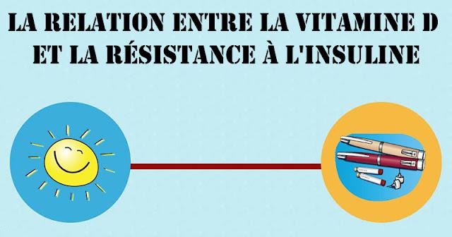 La relation entre la vitamine D et la résistance à l'insuline