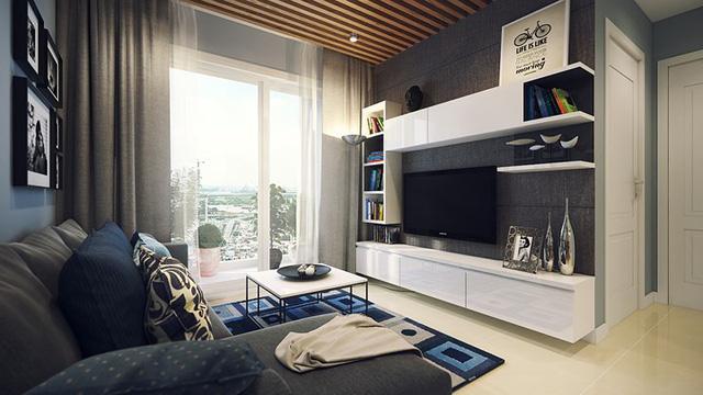 Mẫu căn hộ 66m2