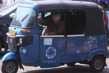 Bajaj transportasi yang semakin jarang ditemukan