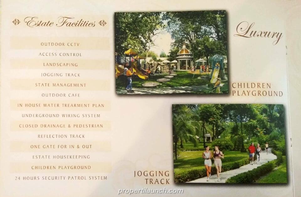 Fasiltias Estate Cluster Angel Residence Jakarta
