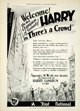Screen Snapshots: Three's a Crowd (1927) - The Unmaking of