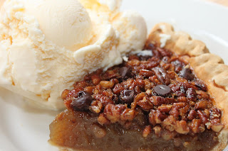 Jack Daniels Pecan Pie- Gristmill River Restaurant & Bar in Gruene, Texas