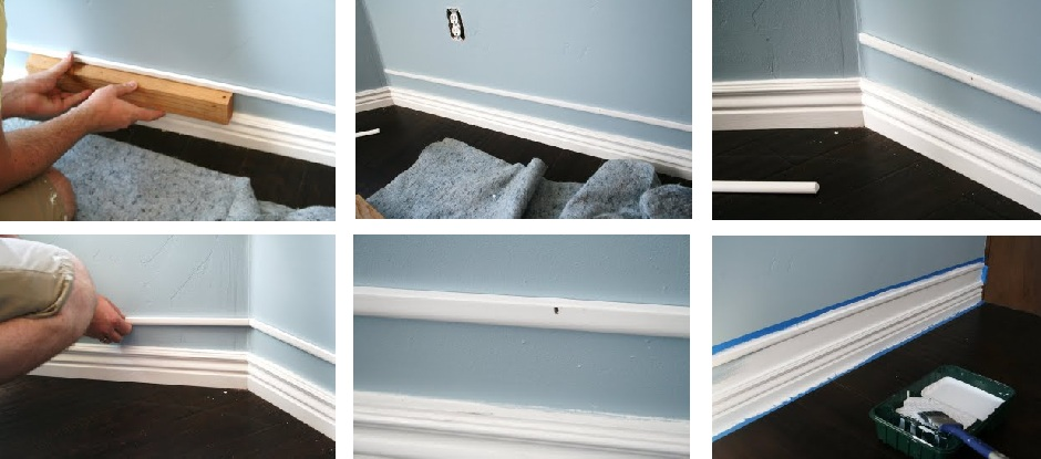 Amazing Cheap Faux Baseboards 183 One Good Thing By Jillee