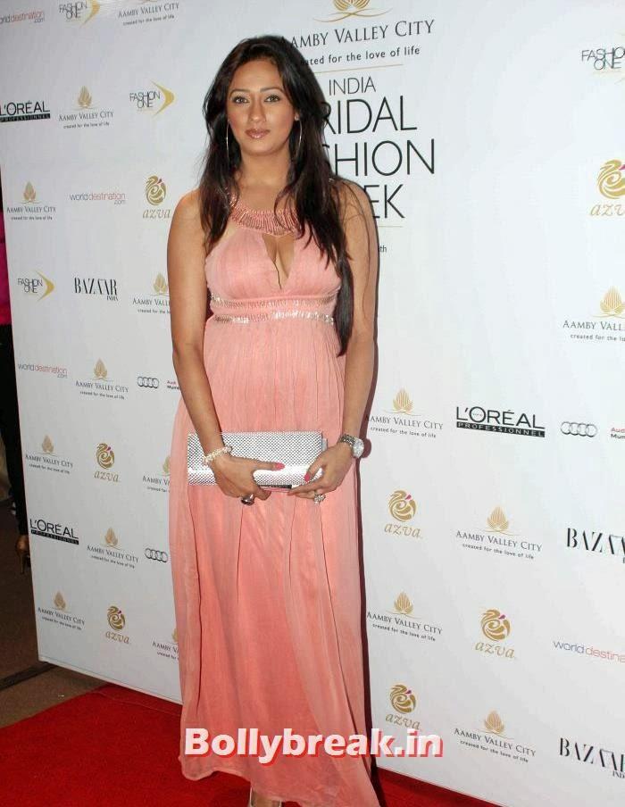 Brinda Parekh, Celebs at India Bridal Fashion Week 2013 Day-6