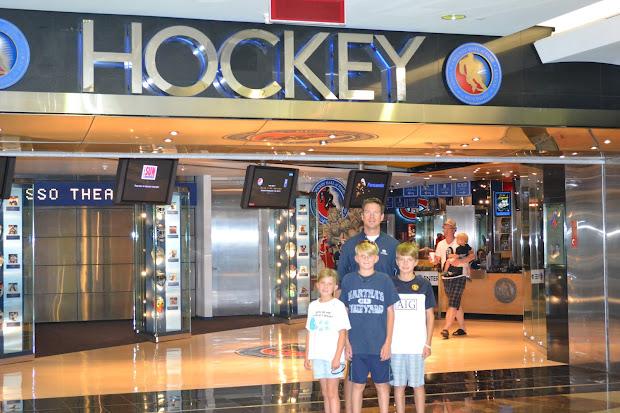 Toronto Hockey Hall of Fame Inside