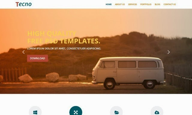 Tecno - Multipurpose Html5 Template