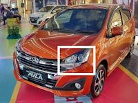 Harga Dan Fisik : Lampu Depan (Headlamp) Kiri Toyota Agya 1.2, Daihatsu Ayla 1.2