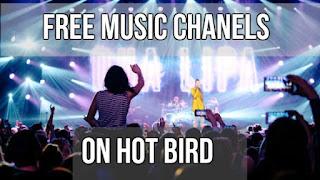 Hotbird 13E Free Music TV Channels Frequency List