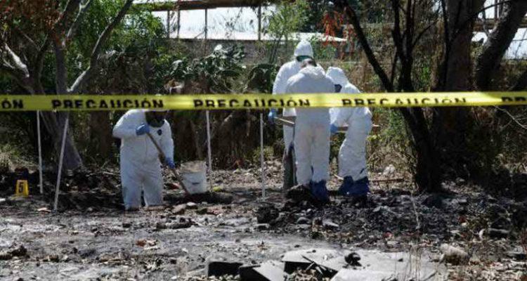 Localizan una tercera narcofosa de la semana en Jalisco.
