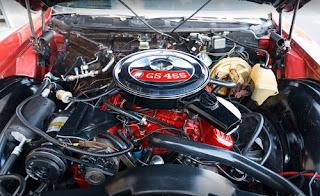 1970 Buick Riviera Gran Sport GS Engine