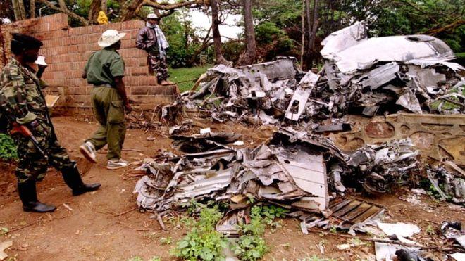 Rwanda genocide: Habyarimana plane shooting probe dropped