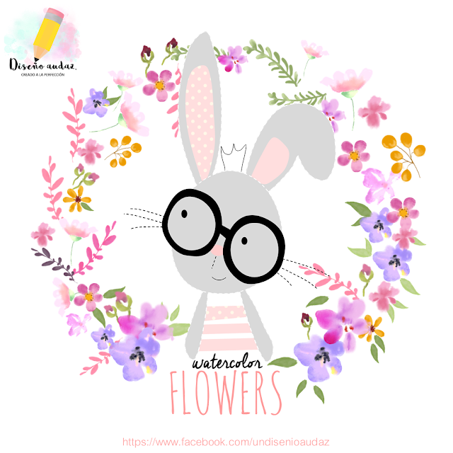 watercolors flowers free png