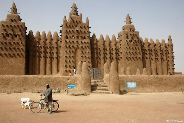 المسجد الكبير في مالي