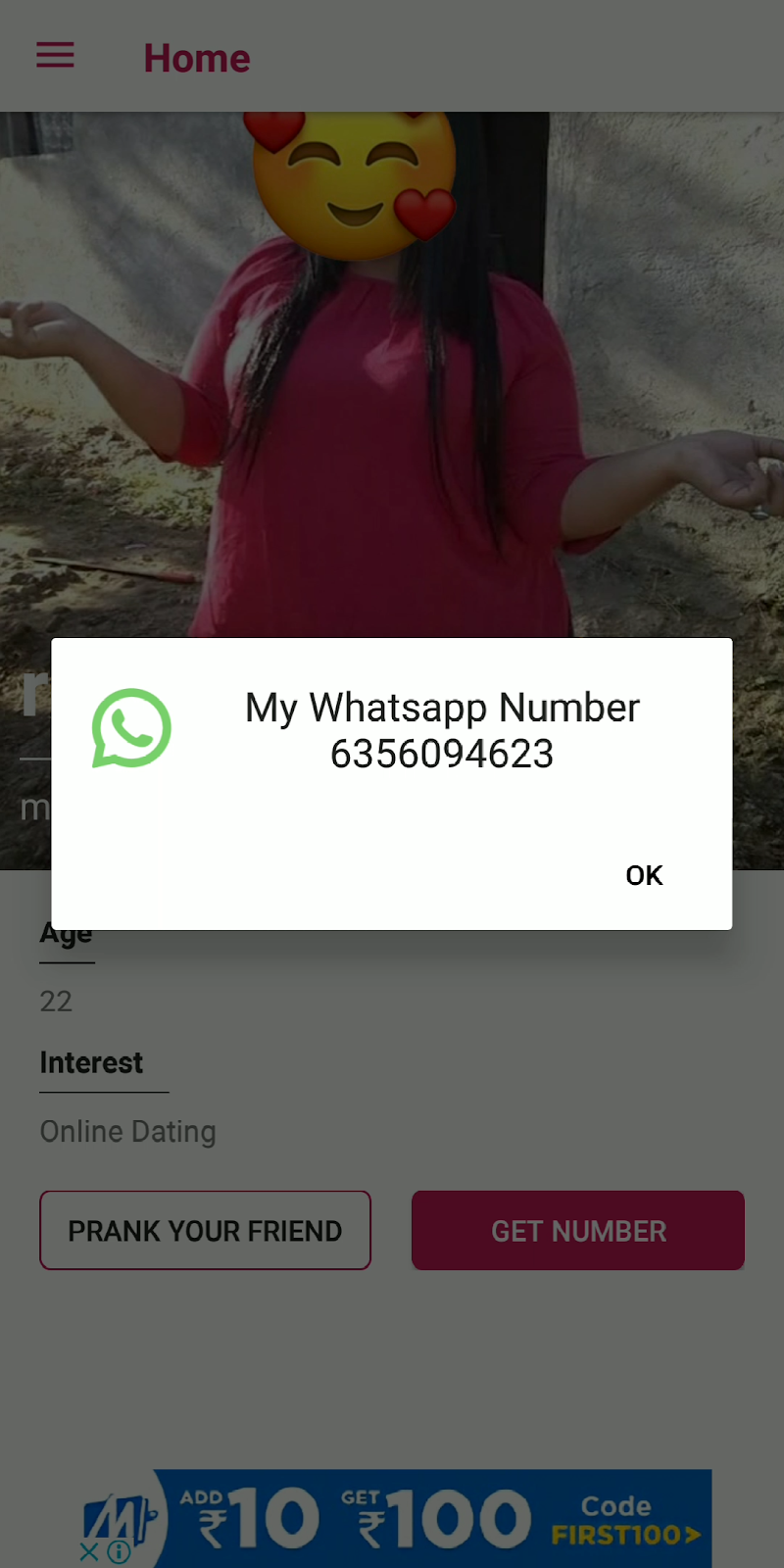 Chat with whatsapp girl  💄 how to chat with girl on whatsapp  2019