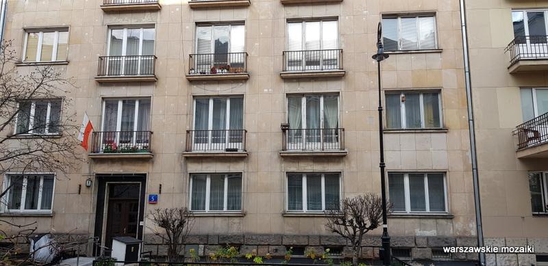 warszawa warsaw warszawskie ulice funkcjonalizm architektura przedwojenne