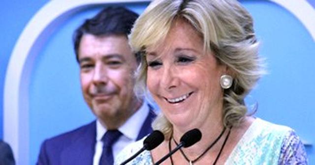 """Esperanza Aguirre insiste: """"Yo destapé la Gürtel"""" (Y nosotros no paramos de reír)"""