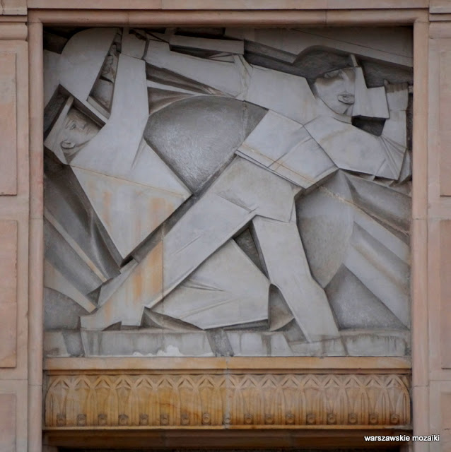 Warszawa Warsaw ministerstwa socrealizm art deco Stanisław Bieńkuński gmach Świętokrzyska