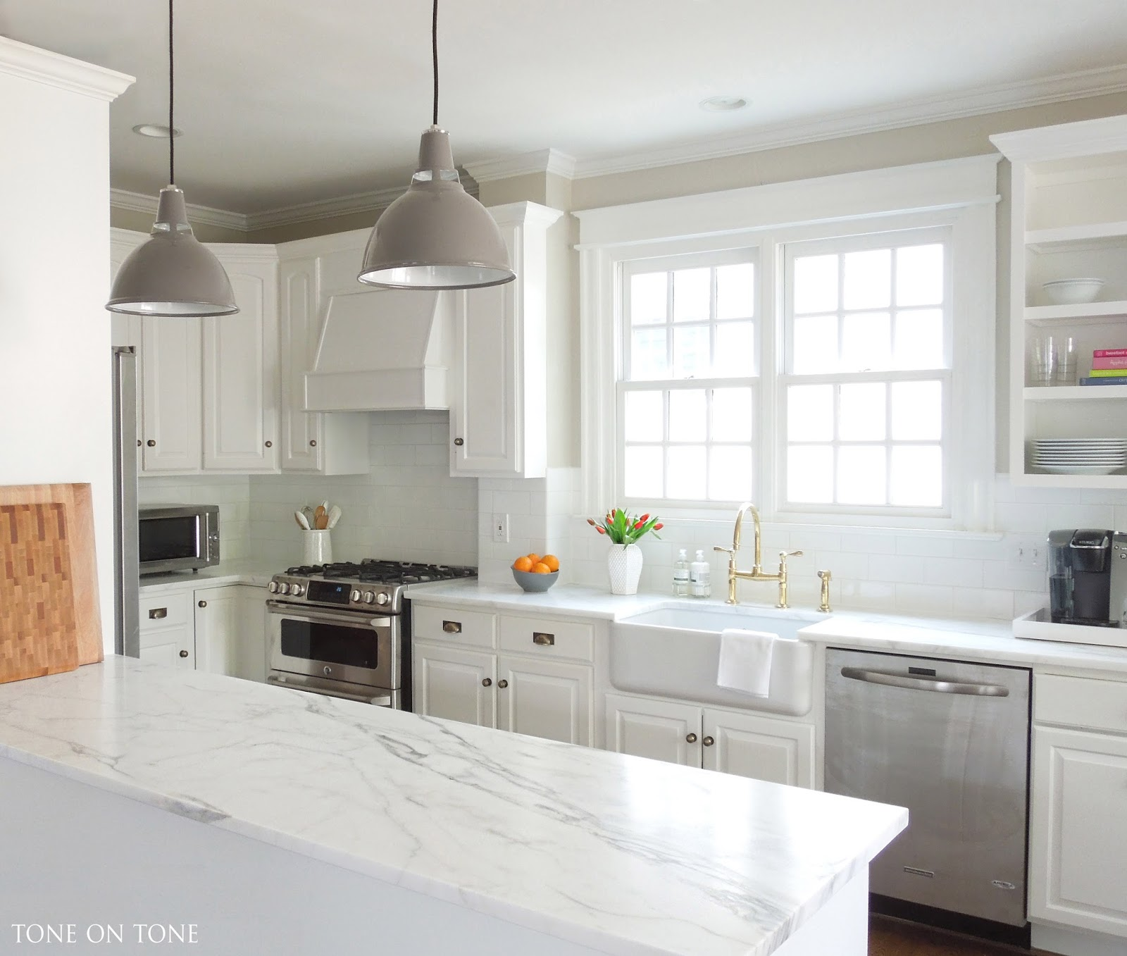 Kitchen Windows: Interior & Garden Design: A Kitchen Makeover
