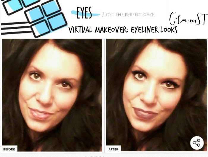 GlamST. Winged Eyeliner Virtual Makeover Looks, By Barbie's Beauty Bits