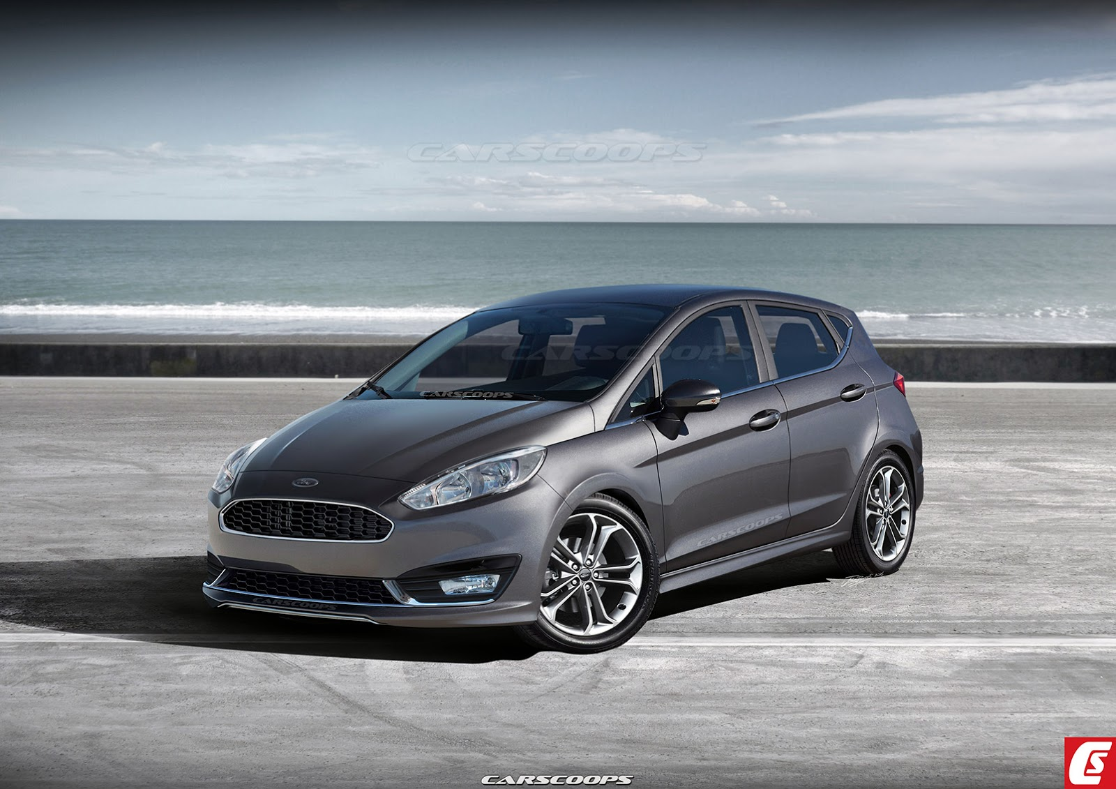 ford puma 2017  Next-Gen Ford Fiesta To Take A Step Up In Design And Luxury ...