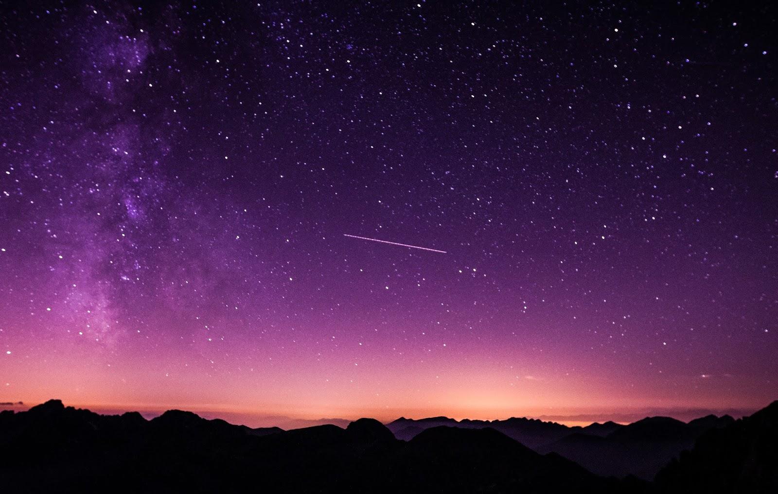 Eu beijo as estrelas