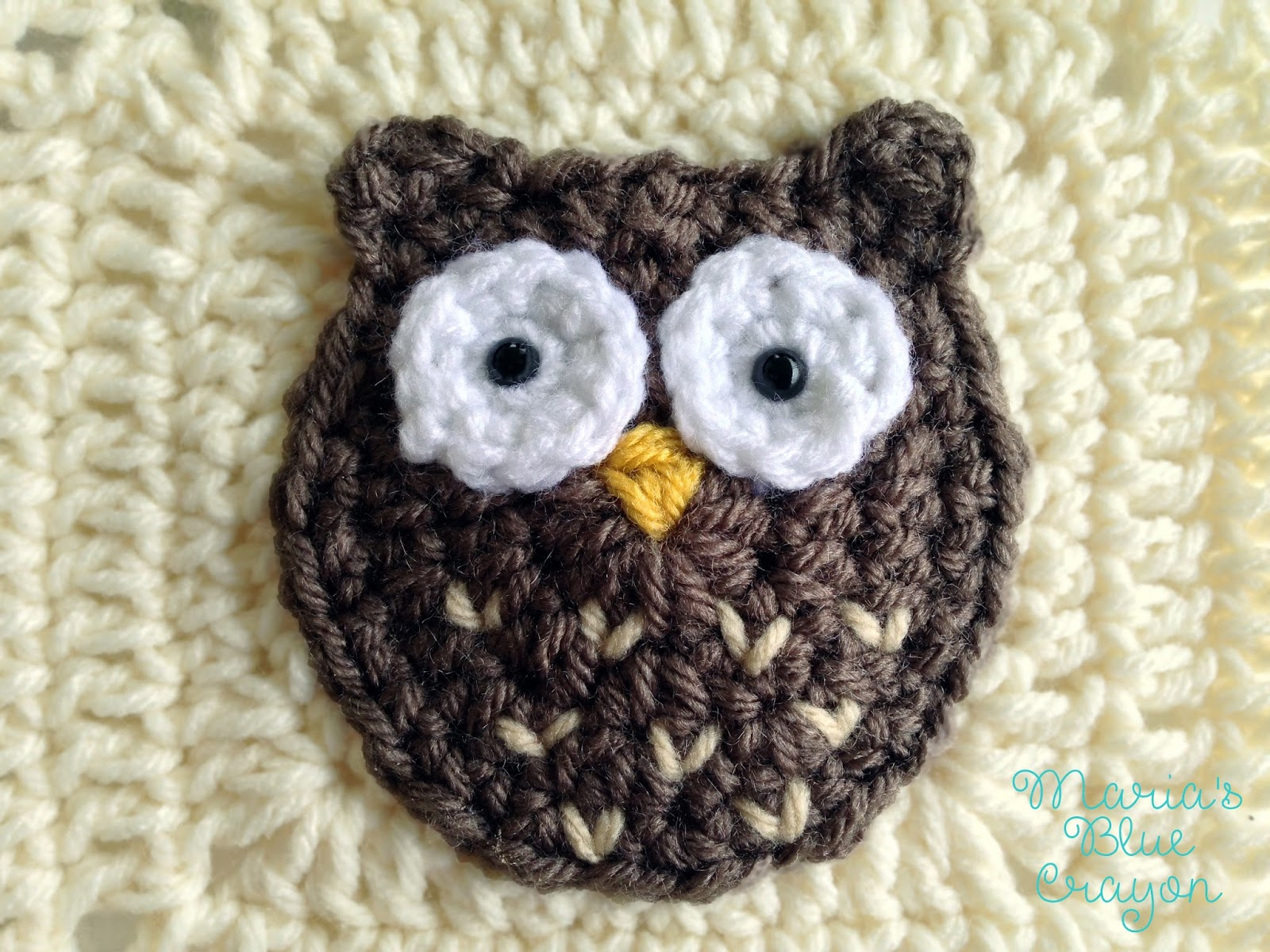 Woodland owl granny square woodland afghan series free crochet