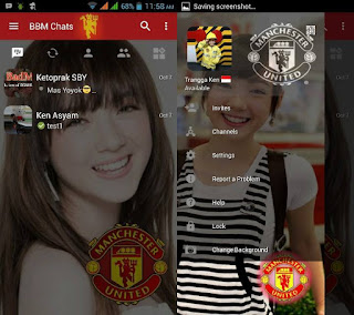 BBM Change Background with MU