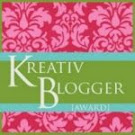 My Kreativ Blogger Award