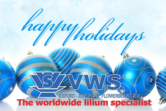 VWS Flowerbulbs wishes you happy holidays!