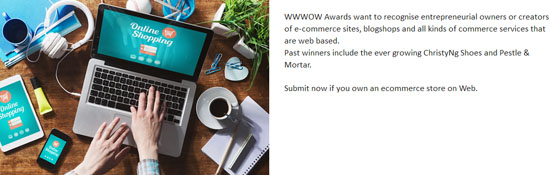 Web Commerce Digi WWWOW Awards 2015