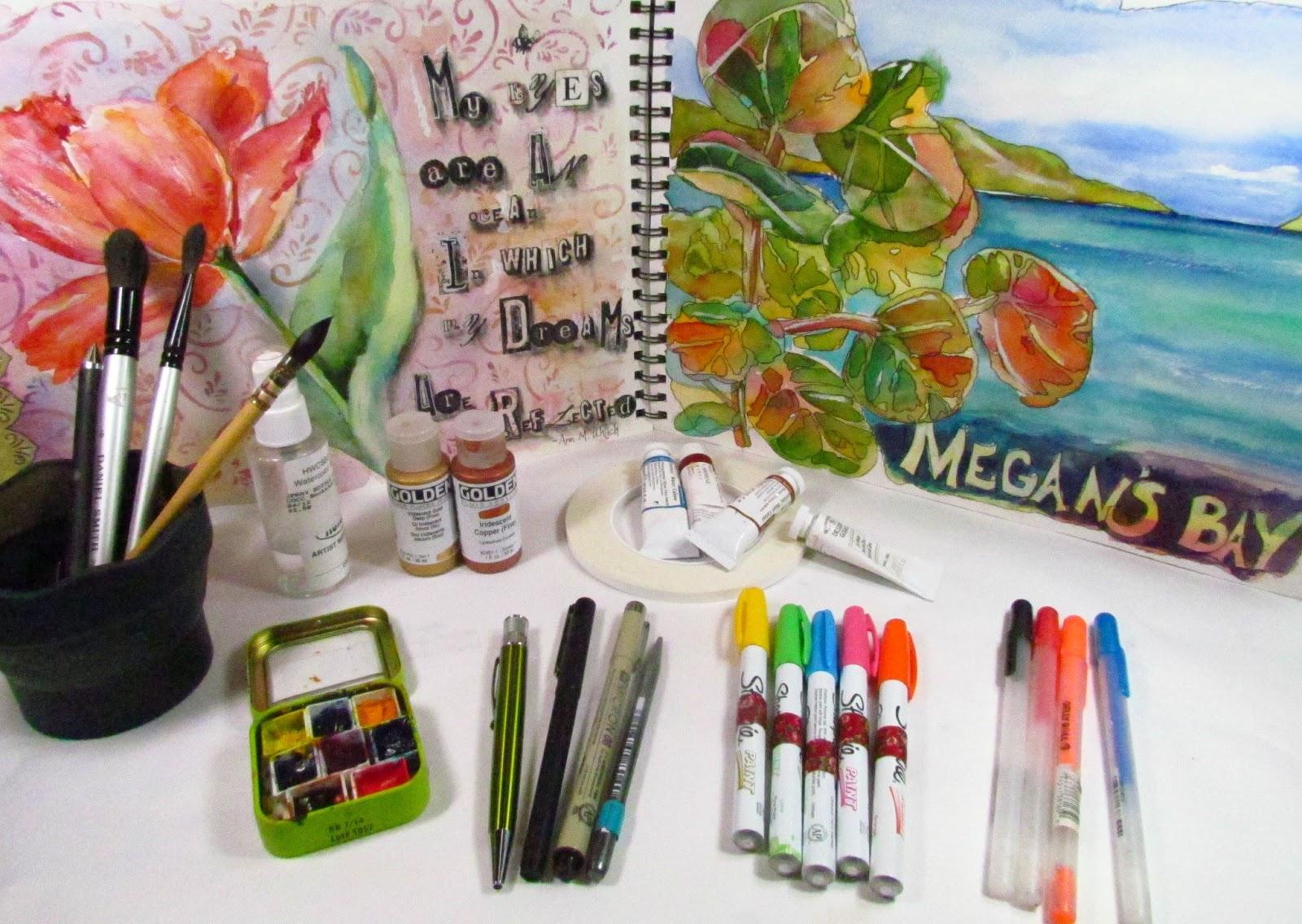 Art In My Heart Jacqueline Newbold Watercolor Travel Kit