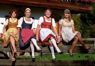 Dirndl from the 70s by Florian Schott
