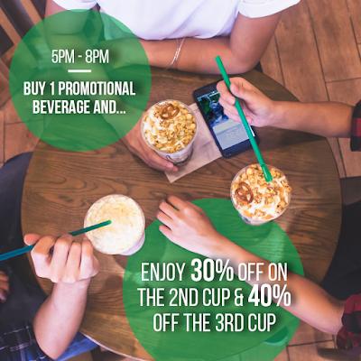 Starbucks Malaysia Frappuccino Discount Promo Fridays