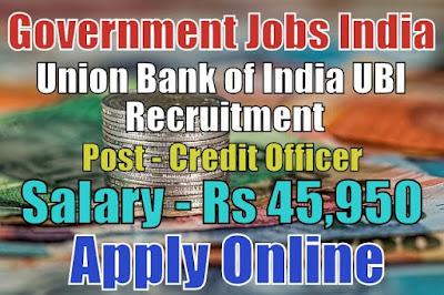 Union Bank of India UBI Recruitment 2017 Apply Online