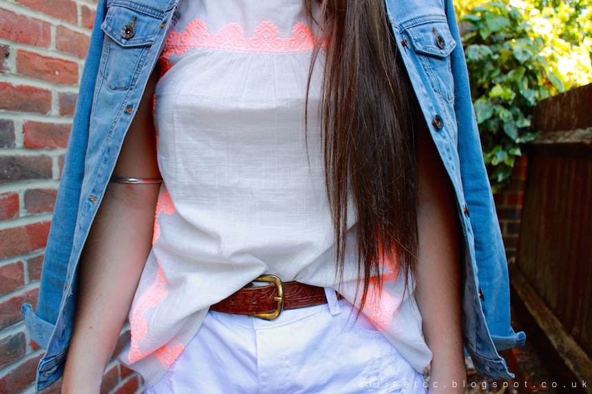 fashion, ootd, outfit, fat face, neon, summer, south coast brights, collaboration