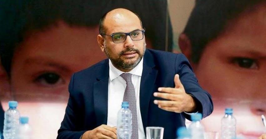 MINEDU: No aceptamos que hagan huelga y después quieran recuperar clases, eso no funciona (Daniel Alfaro Paredes) www.minedu.gob.pe
