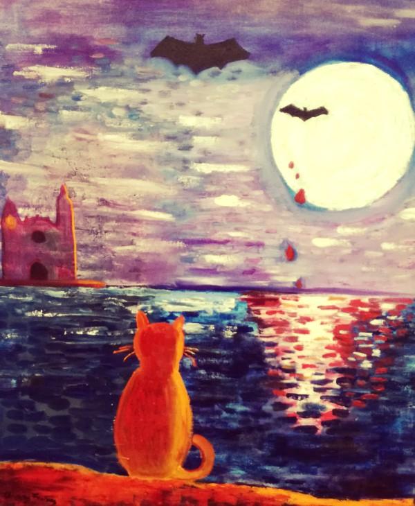 gats pintura fantastica