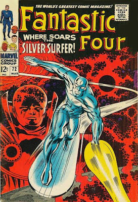 Fantastic Four #72, the Silver Surfer
