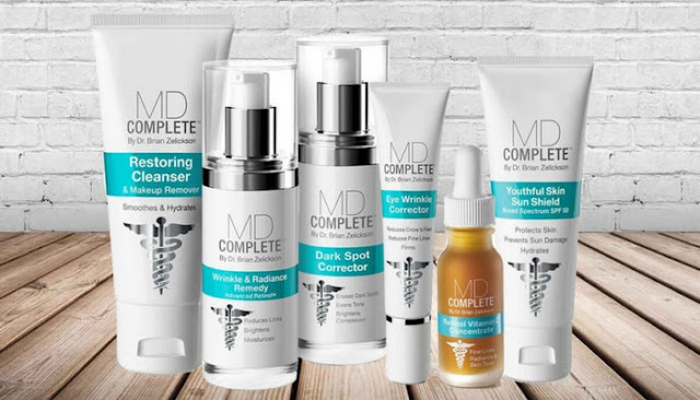 md complete skin care target