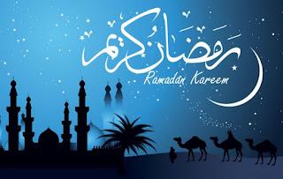 Gambar Ucapan Ramadhan Selamat Menunaikan Puasa Bulan Suci Ramadan