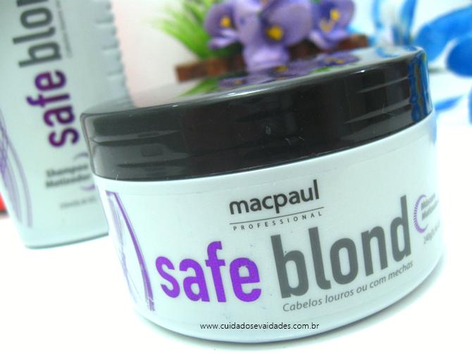 Máscara Matizador Safe Blond MacPaul