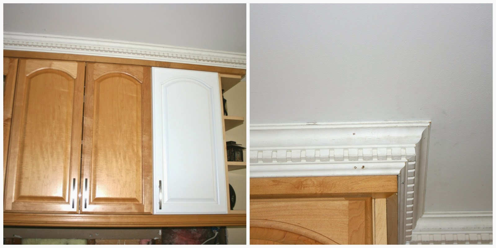 Kitchen Cabinets Without Molding