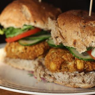 Vegan Falafel Burgers