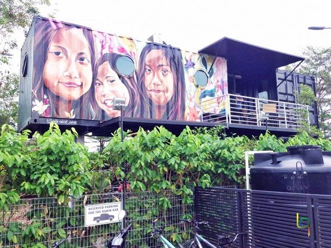 Bilik di The Kabin Pantai Remis Kuala Selangor