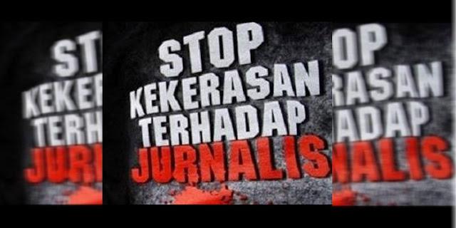 IJTI Dan AJI Kecam Kekerasan, Terhadap Jurnalis ,Pada Aksi 112