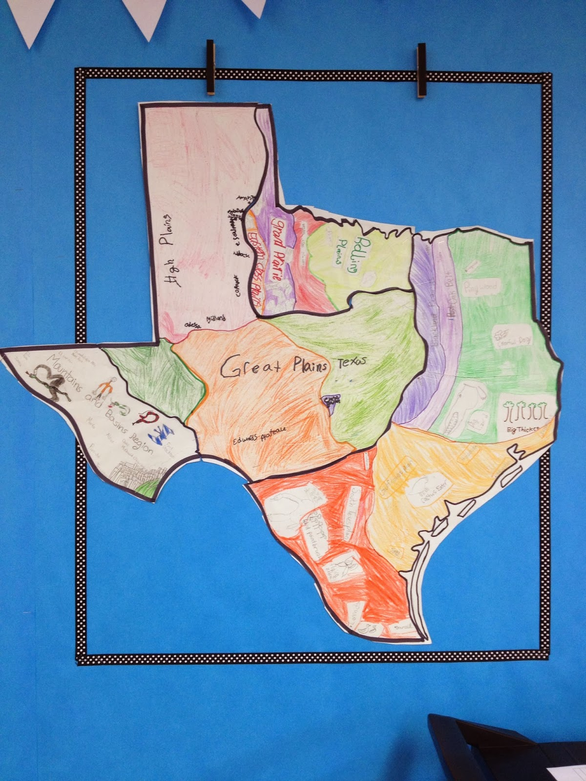 Simply 2nd Resources Regions Of Texas