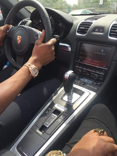 Check Out The Porsche Boxster DBanj Got From SLOT As - Cool cars snapchat
