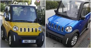 Είναι Ελληνικό: «Καίει» μόνο 1 ευρώ ανά 100 χλμ και παρκάρει σε θέση κάδου