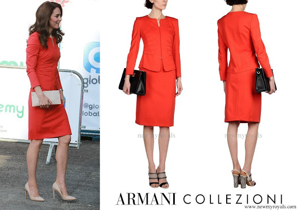 Kate Middleton wore Armani Collezioni Skirt Suit